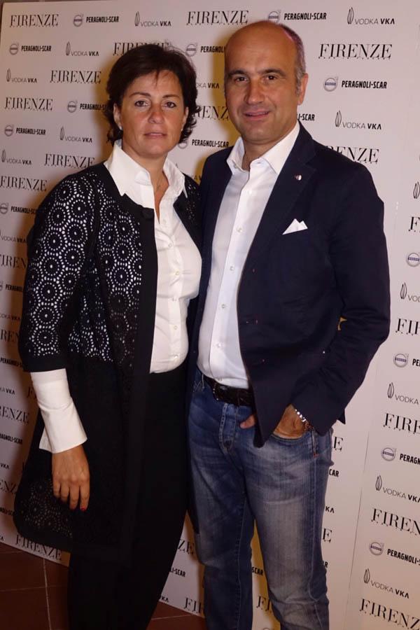 Alberto Peragnoli, Francesca Mannini