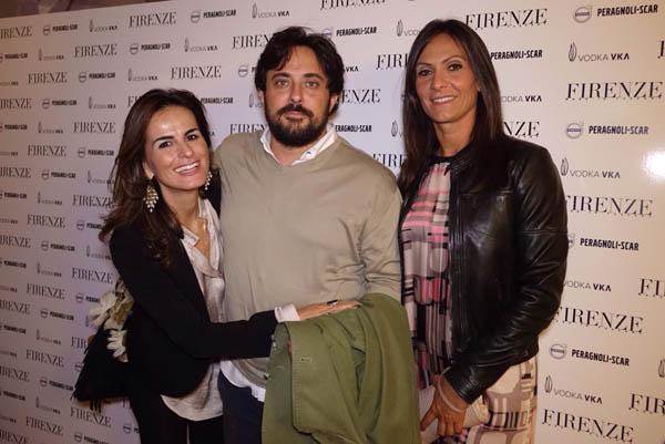 Silvia Calosci, Angela Peragnoli, Riccardo Nuti