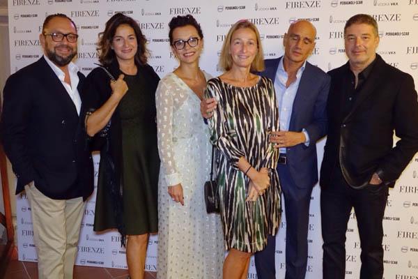 Riccardo and Cristina Bacherelli,  Cerruti Simone e Paola, Luca e Chiara Ferrari Bravo