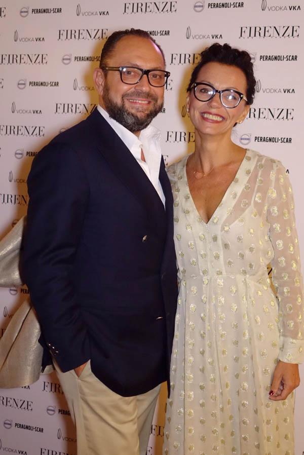 Riccardo and Cristina Bacarelli