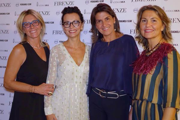 Rita Guandalini, Cristina Bacarelli, Claudia Lulli, Simona Douglas De Fenzi