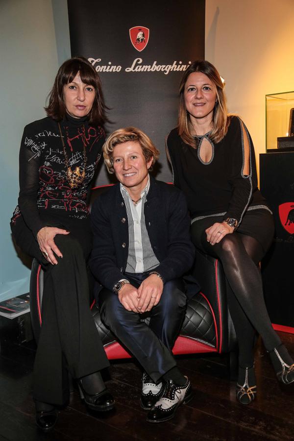 Daniela Canè, Camilla Fallaci and Rita D'Andrea
