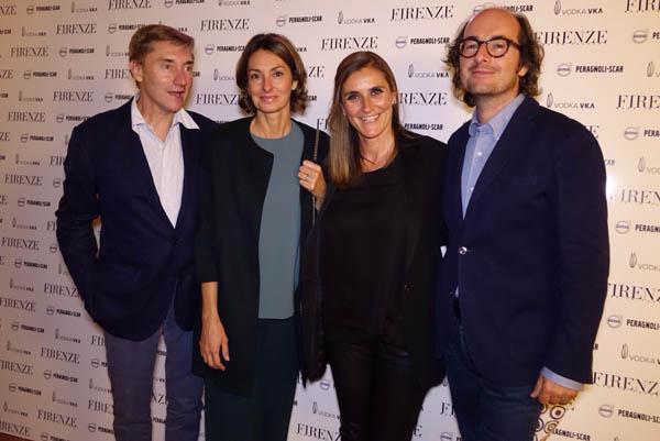 Marco e Ilaria Raveggi , Niccolo e Sabrina Reali
