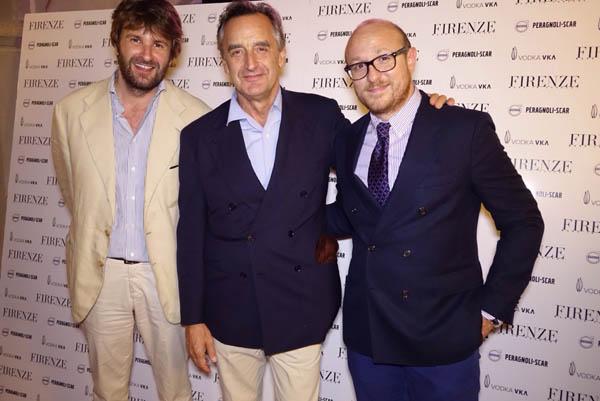 Leonardo Piccinini, Carlo Orsi, Arturo Galansino