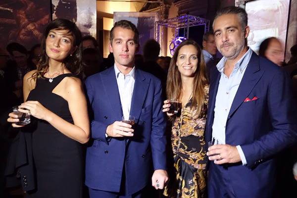 Lucrezia Carrega Malabaila, Fabrizio Moretti, Sara and Matteo Parigi Bini