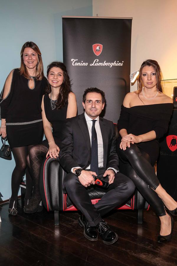 Rita D'Andrea, Marianna Saracino, Alessandro Castelli and Chiara Marzadori