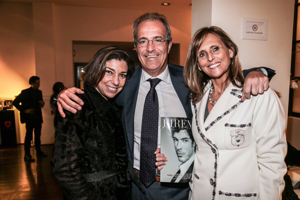 Consuelo Blocker, Luigi Salvadori,  Bianca Bellucci