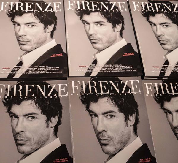 PRESSPHOTO Firenze, Hotel Gallery, Firenze Made in Tuscany e Lamborghini. Nella foto la rivista Giuseppe cabras/new pressphoto
