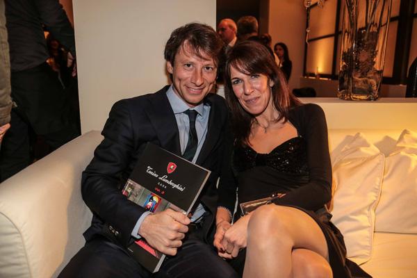 Alberto and Lucia Cipriani