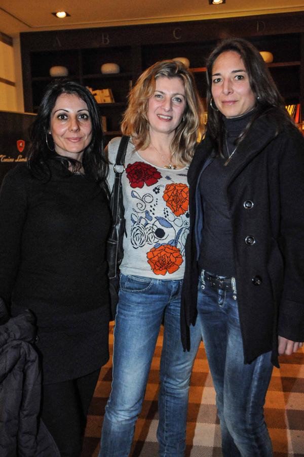 Vanina Carta, Roberta Chiandotto, Monia Bartolozzi