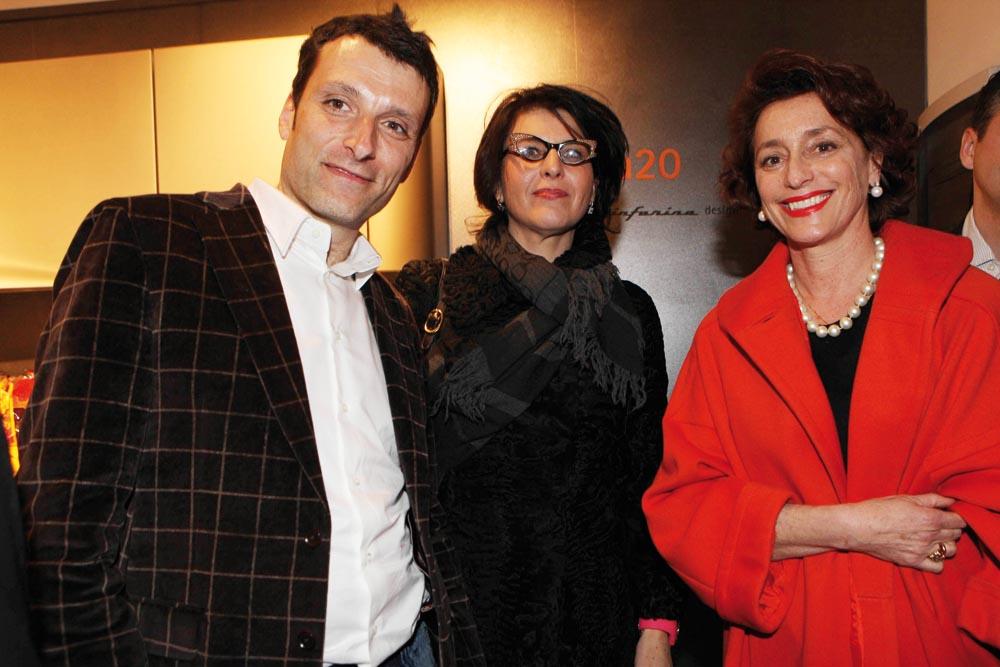 pressphoto-Firenzemagazine  Firenze inaugurazione negozio Snaidero in viale Amendola Elisabetta Cianfanelli, Mario Apelli, Annamaria Tossani