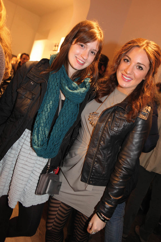 pressphoto-Firenzemagazine  Firenze inaugurazione negozio Snaidero in viale Amendola Hannah Roth, Arielle Kohr