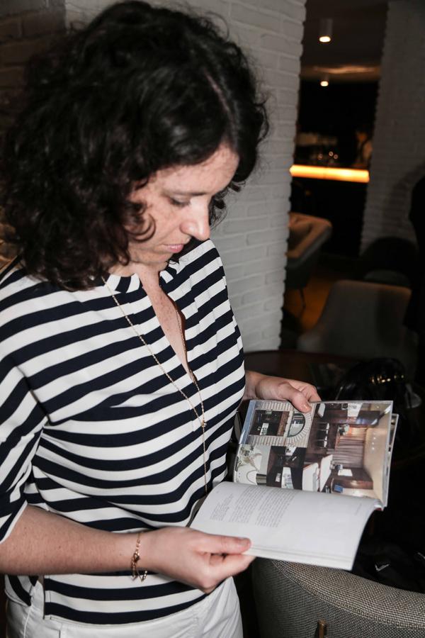 PRESSPHOTO Firenze, Caffè dell'Oro, Presentazione della guida Firenze su Misura. Nella foto  Giuseppe cabras/new pressphoto