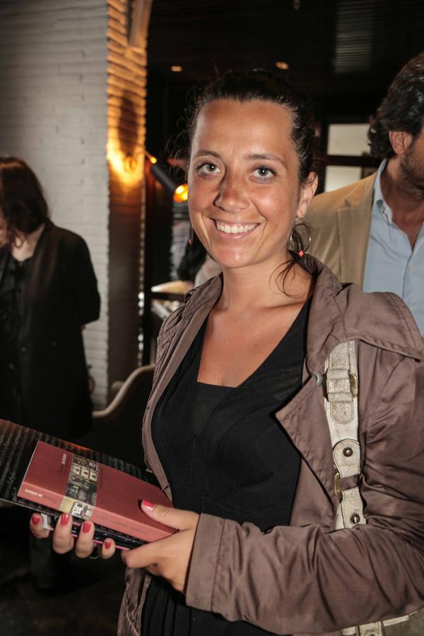 PRESSPHOTO Firenze, Caffè dell'Oro, Presentazione della guida Firenze su Misura. Nella foto Rossella Conte Giuseppe cabras/new pressphoto