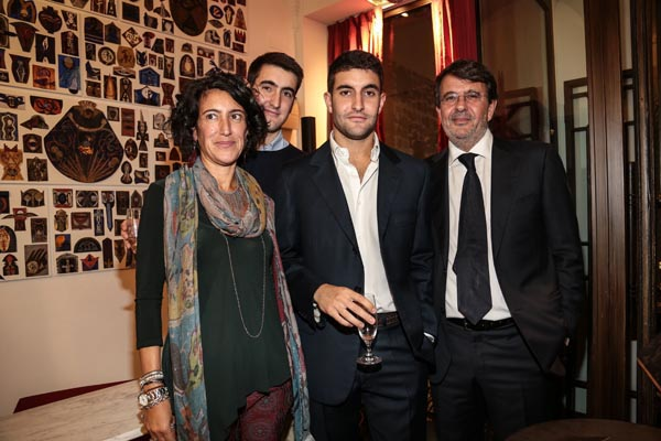 Gloria De Ruggiero, Michele, Gabriele and Marco Paolini