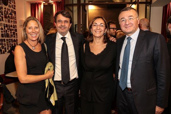 Marco Paolini, Massimo and Roberta Cremona, Gloria De Ruggiero