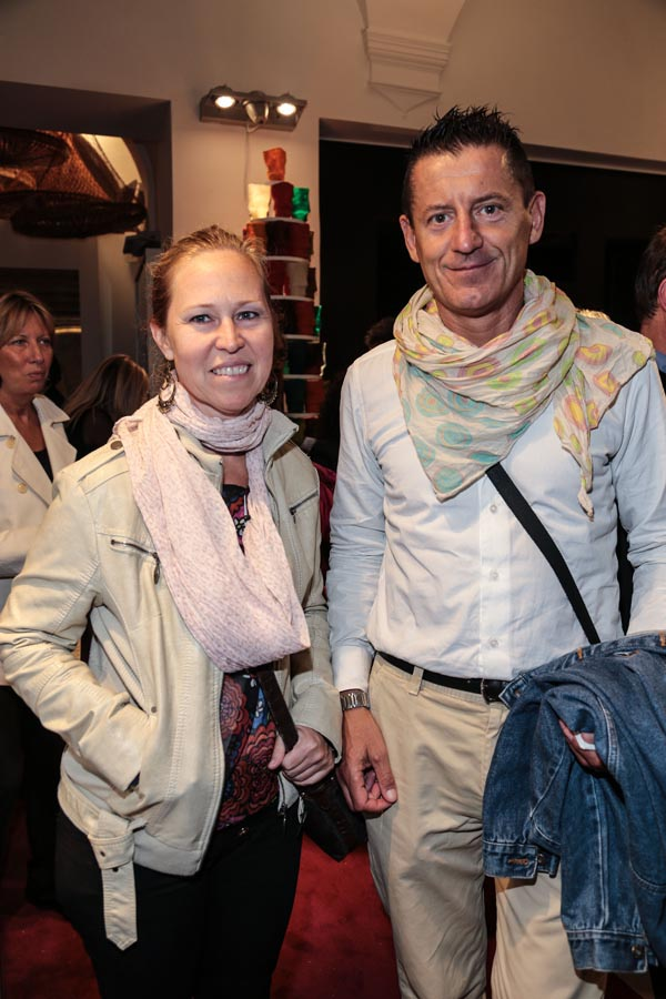 Gabriella Kamaras and Fabrizio Conti