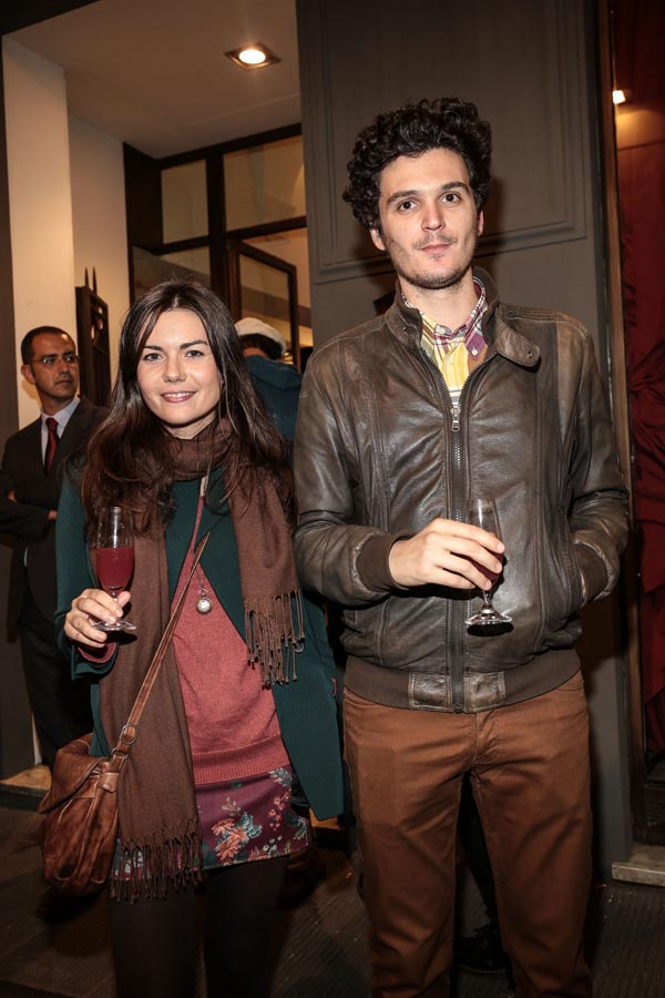 Melania Lotti and Filippo Romei