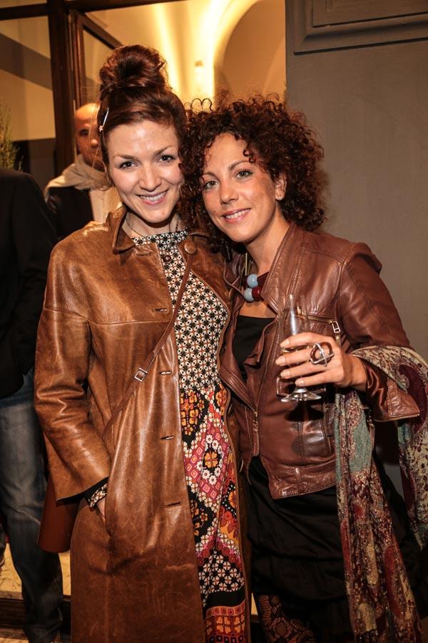 Anna Bonell and Annalisa Lugli  Giuseppe cabras/new pressphoto