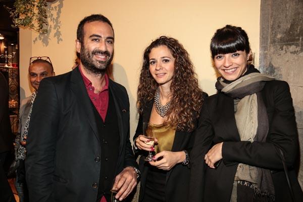 Nazli Beigi, Lily Kani and Amin Mo