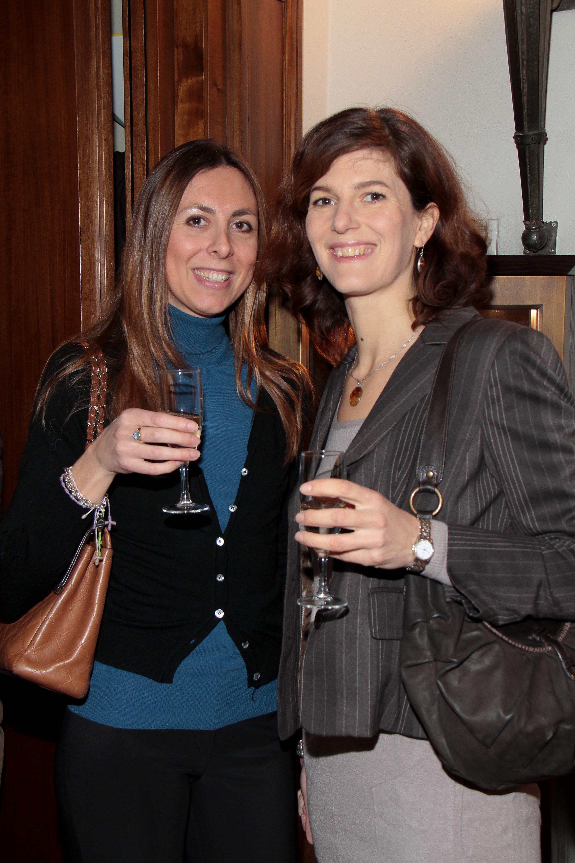 PRESSPHOTO Firenze, Hotel Savoy, inaugurazione Flower Shop Sebastian. Nella foto Vanessa Chanson e Chiara Conticelli Giuseppe Cabras/New Press Photo