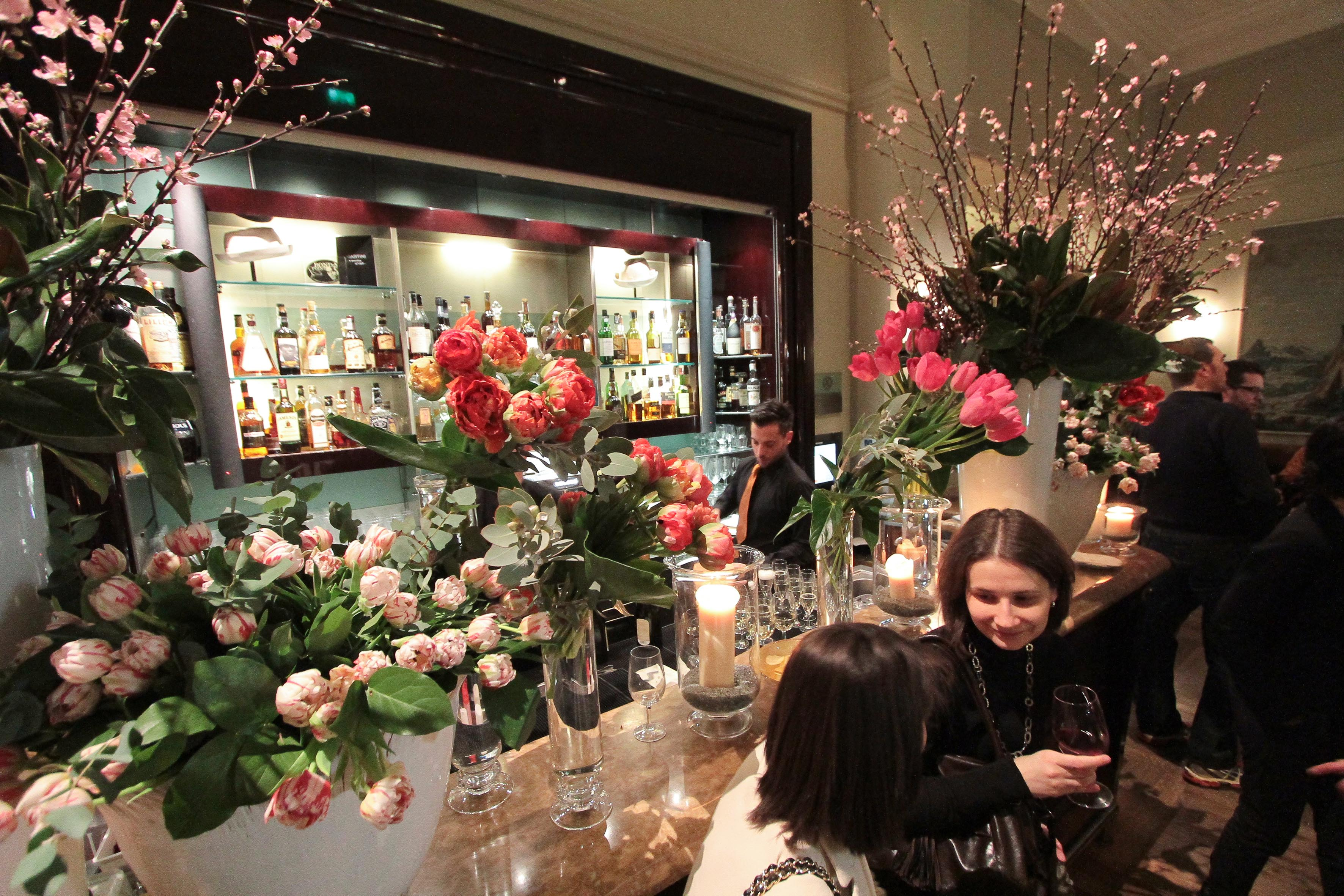 PRESSPHOTO Firenze, Hotel Savoy, inaugurazione Flower Shop Sebastian.  Giuseppe Cabras/New Press Photo