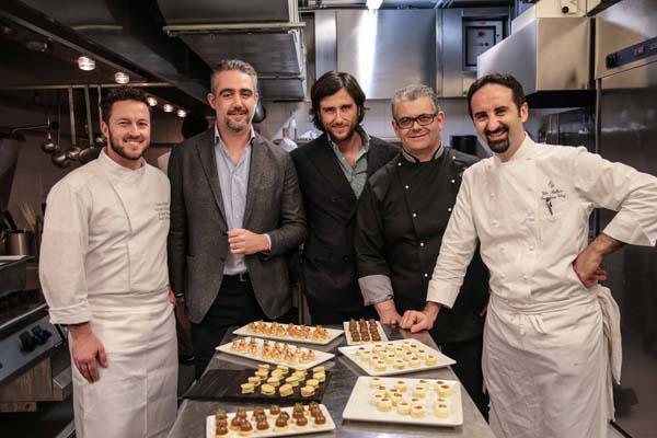 chef Andrea Mattei, Gioacchino Contrelli, Vito Mollica