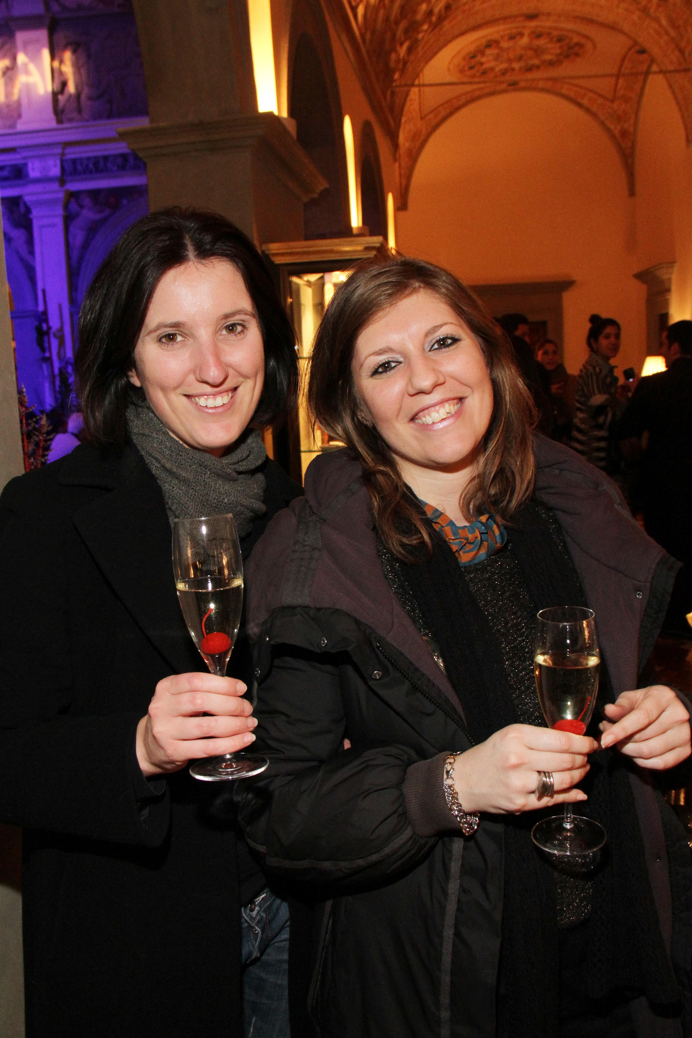 PRESSPHOTO Firenze,  Four Seasons, evento Metropolitan. Nella foto Tiziana Perrucci e Cecilia Fagnoni  foto Giuseppe Cabras/New Press Photo