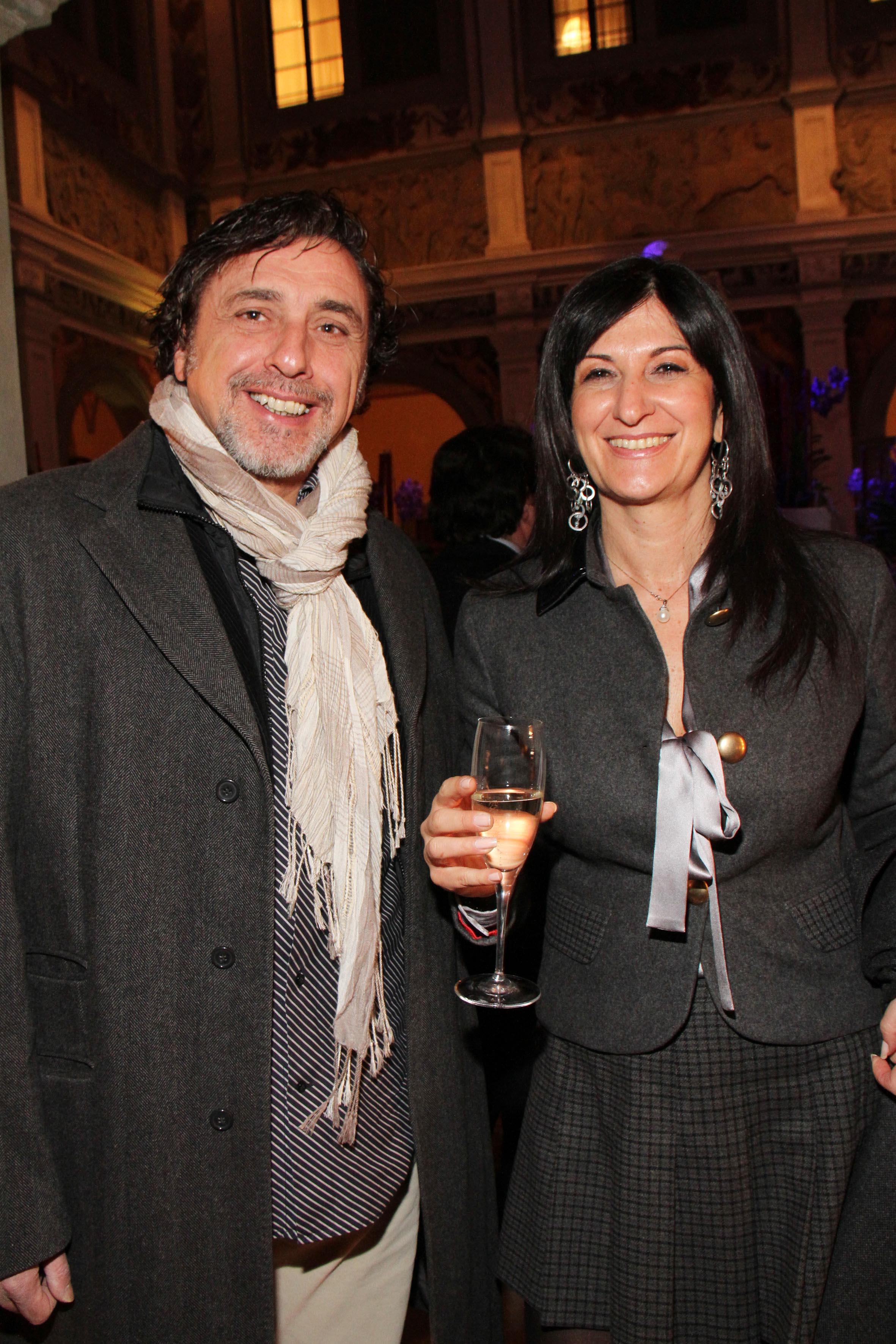 PRESSPHOTO Firenze,  Four Seasons, evento Metropolitan. Nella foto Donatella Stivoli, Riccardo Becattelli  foto Giuseppe Cabras/New Press Photo