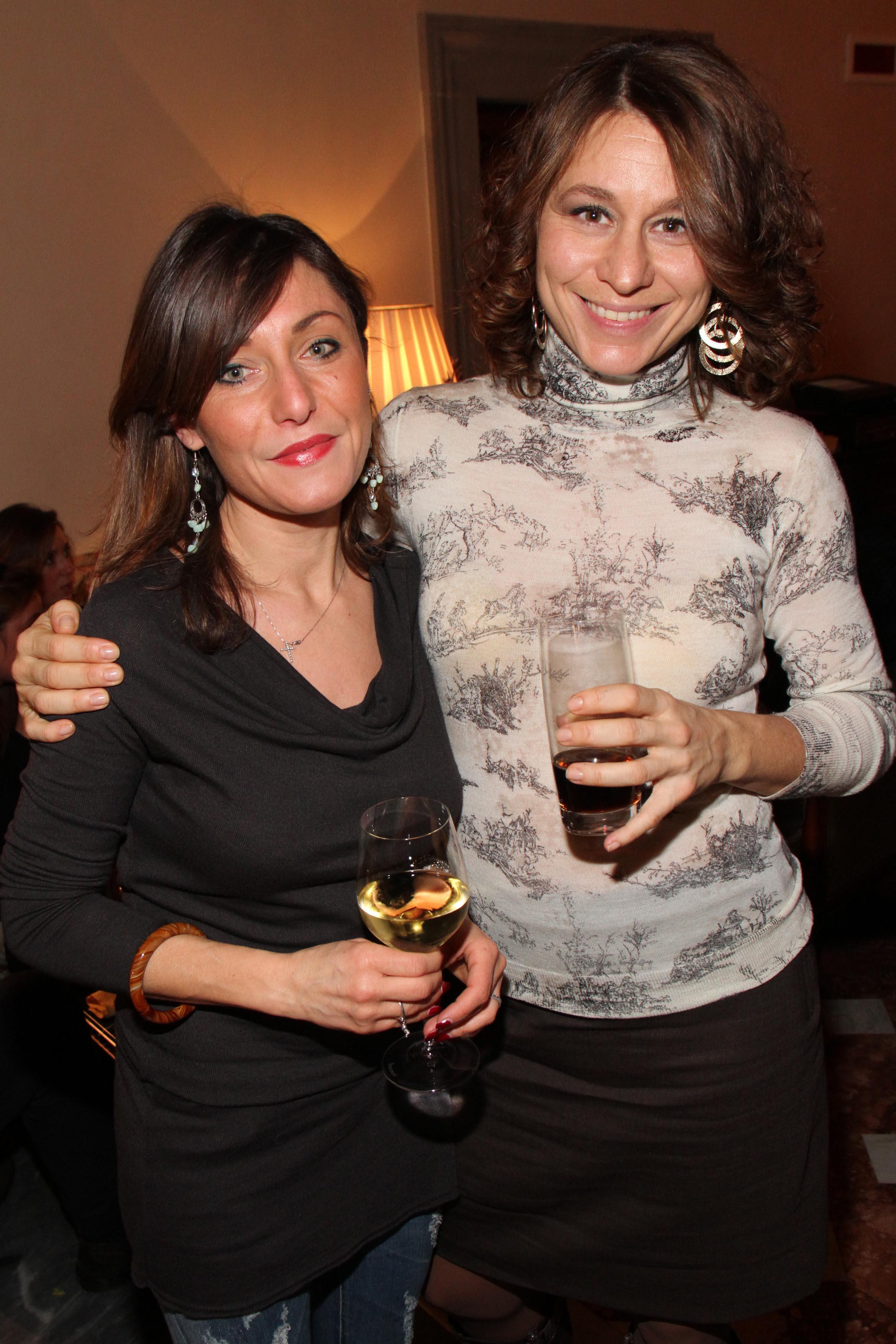 PRESSPHOTO Firenze,  Four Seasons, evento Metropolitan. Nella foto Cristina Naccari e Giulia Barsotti  foto Giuseppe Cabras/New Press Photo
