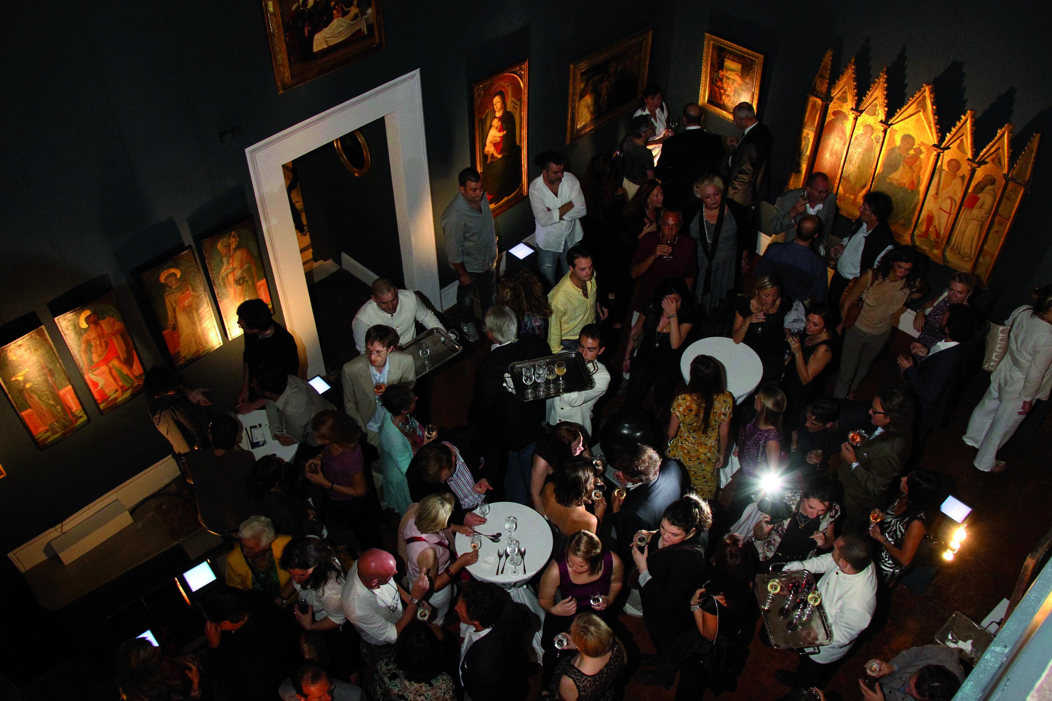 PRESSPHOTO  Firenze Magazine, Galleria d'Arte in via Maggio;