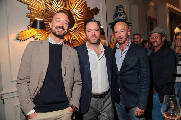 Gabriele Goretti, Warren Knight e Lorenzo Poccianti