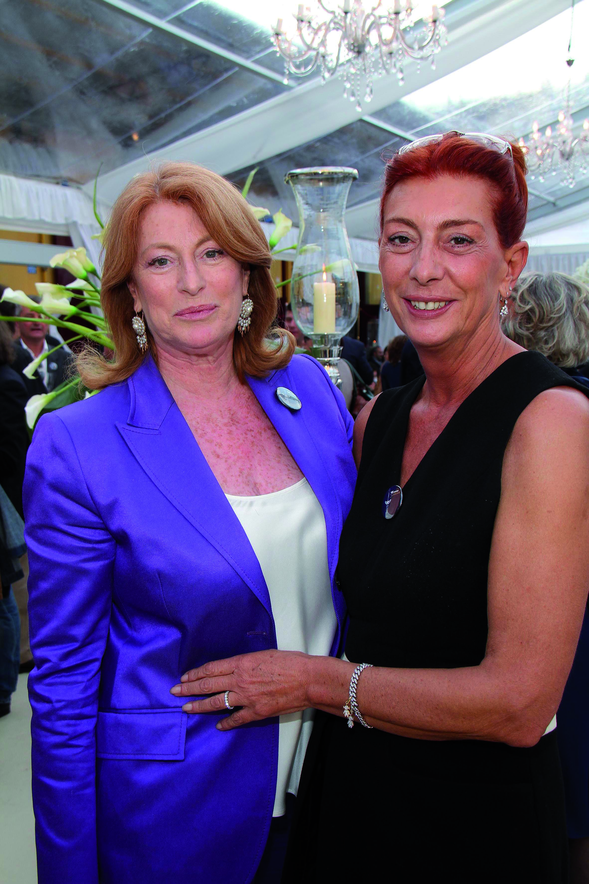 PRESSPHOTO. Firenze, festa Galateo e Uoll. Nella foto Simona Pelagotti e Elisabetta Rogai