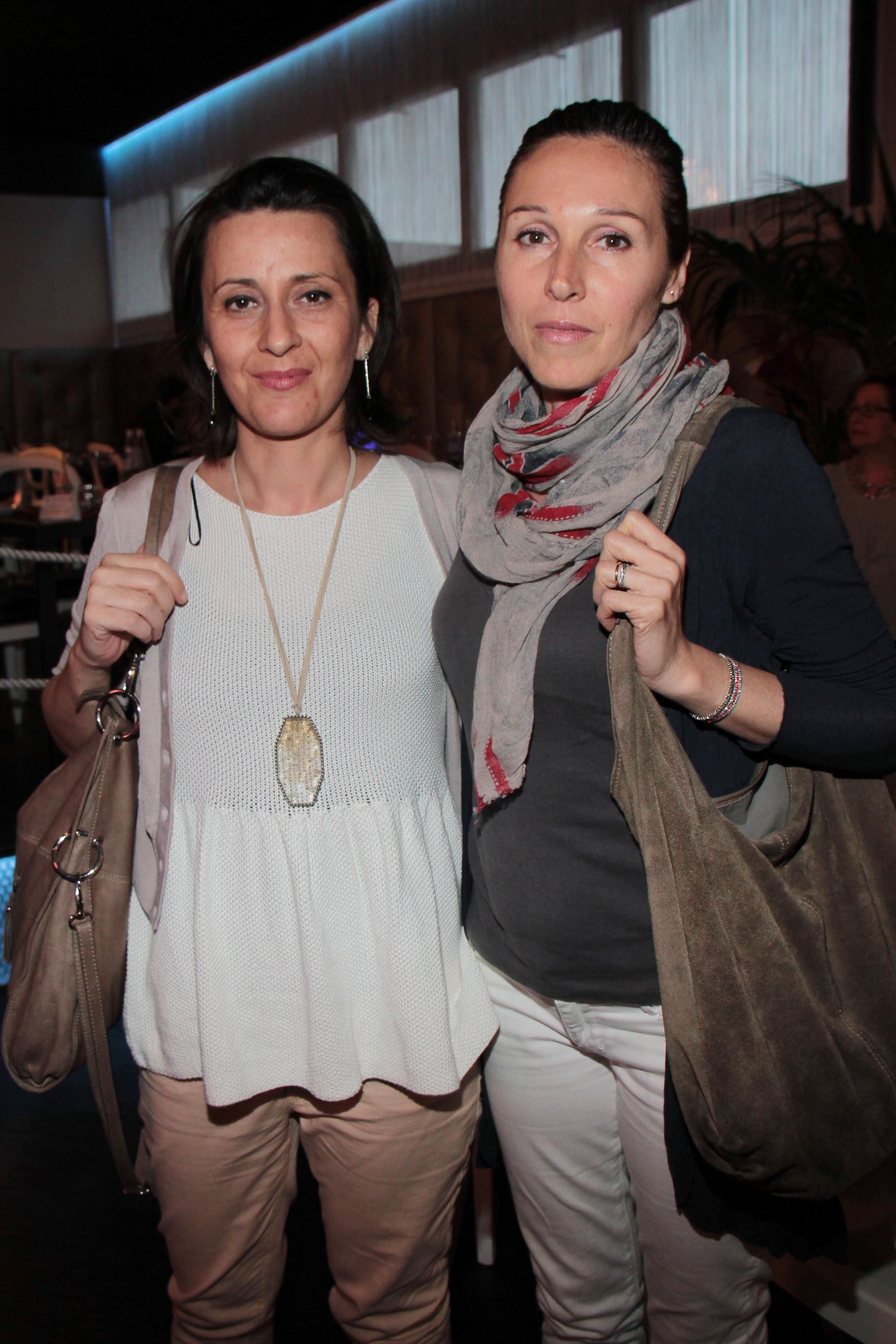 PRESSPHOTO Capalle, inaugurazione Galisia. Nella foto Antonella Marosio e Alessandra Pierini giuseppe cabras/new press photo