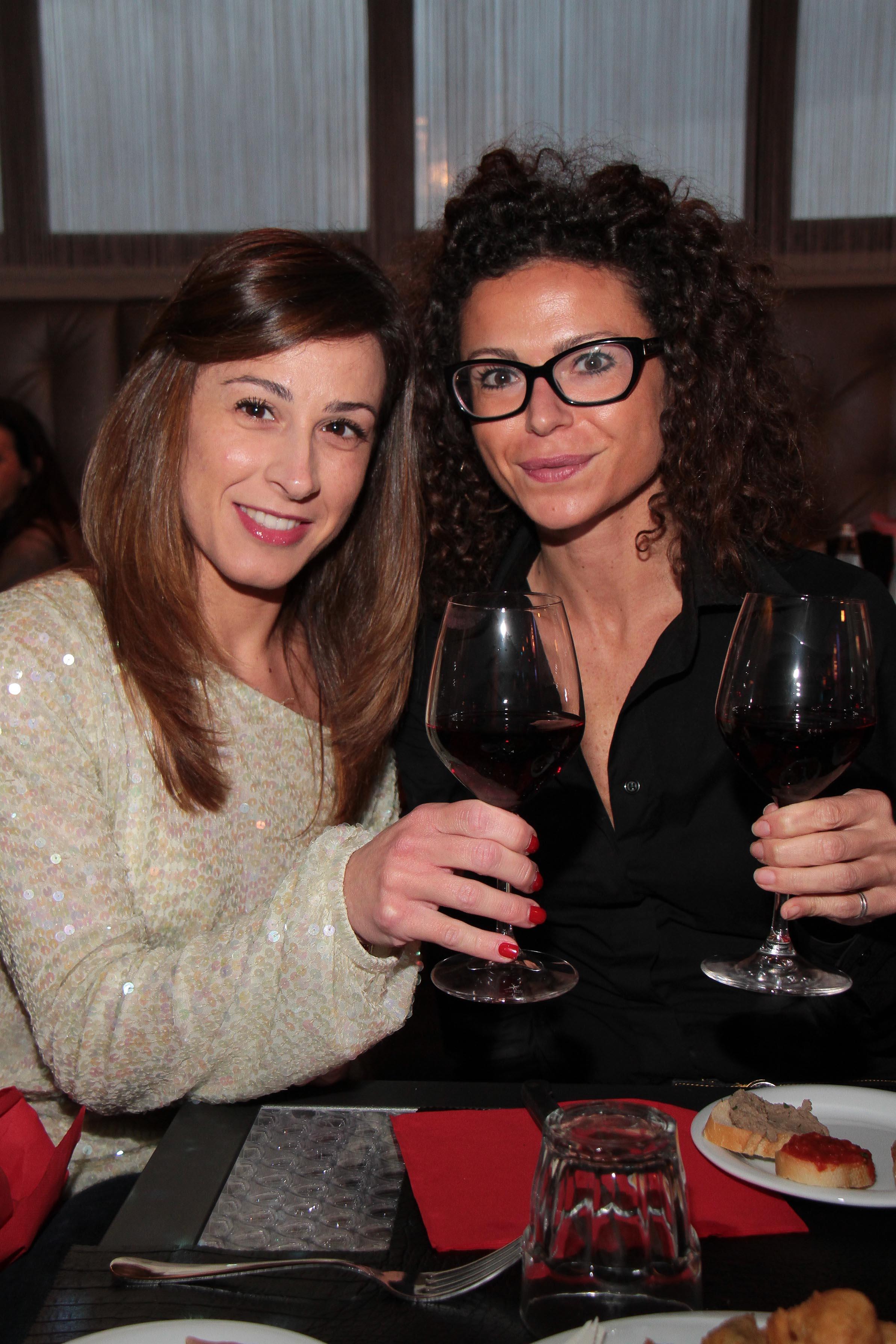 PRESSPHOTO Capalle, inaugurazione Galisia. Nella foto Vittoria Bronzini Bedini e Claudia Chiti giuseppe cabras/new press photo