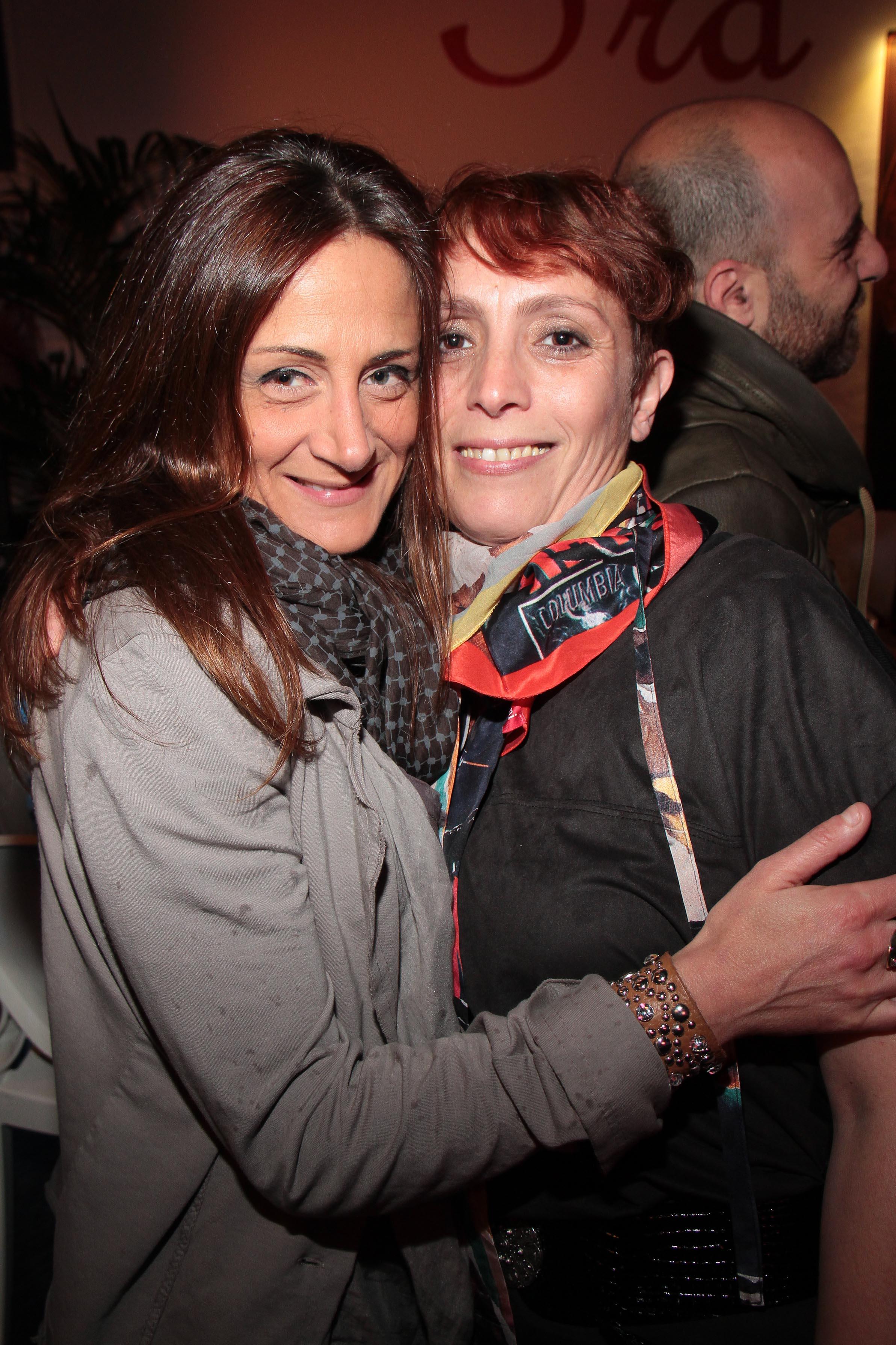PRESSPHOTO Capalle, inaugurazione Galisia. Nella foto Valentina Tosi e Erika Piscitelli giuseppe cabras/new press photo