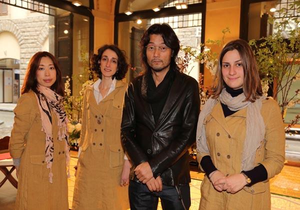 Teiji Yoshimura, Akane Kido, Sara Romiti, Costanza Buci