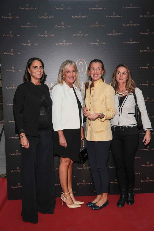 Silvia Orsi Bertolini, Giovanna, Laura and Eleonora Frescobaldi