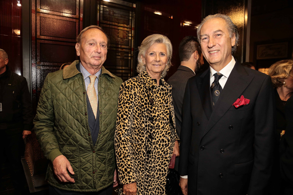 Guido and Cristina Martelli, Mario Donghia