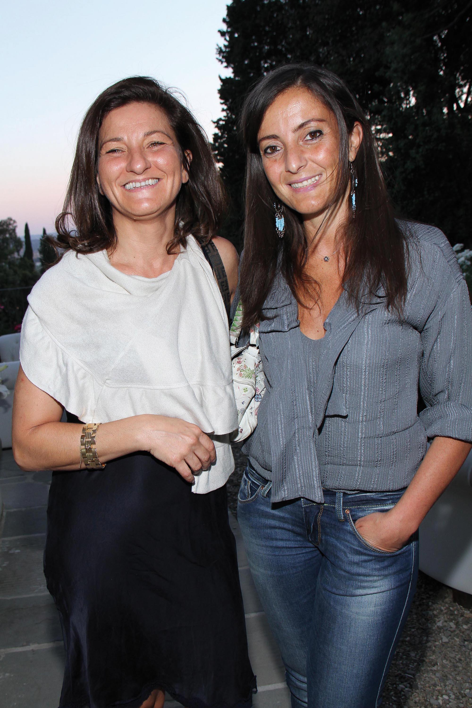 PRESSPHOTO Firenze, Salviatino, serata Giuliano Mazzuoli. Nella foto Cristina Leone e Cristiana Chiarugi