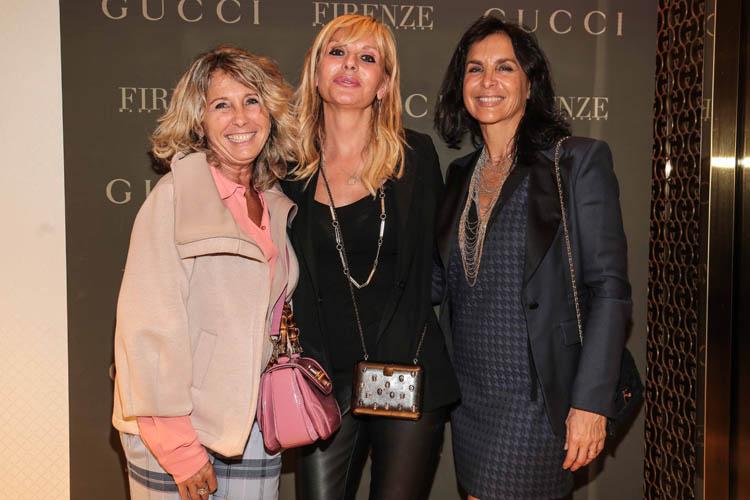 Marinella Fani, Fulvia Casamonti, Silvia Panicucci