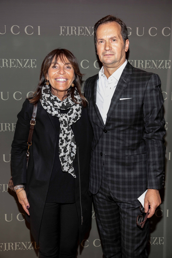 Cinzia Cecconi and Antonio Bossio