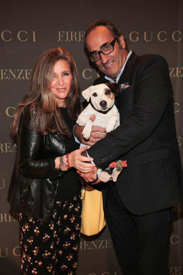 Maria Grazia and Roberto Quagli