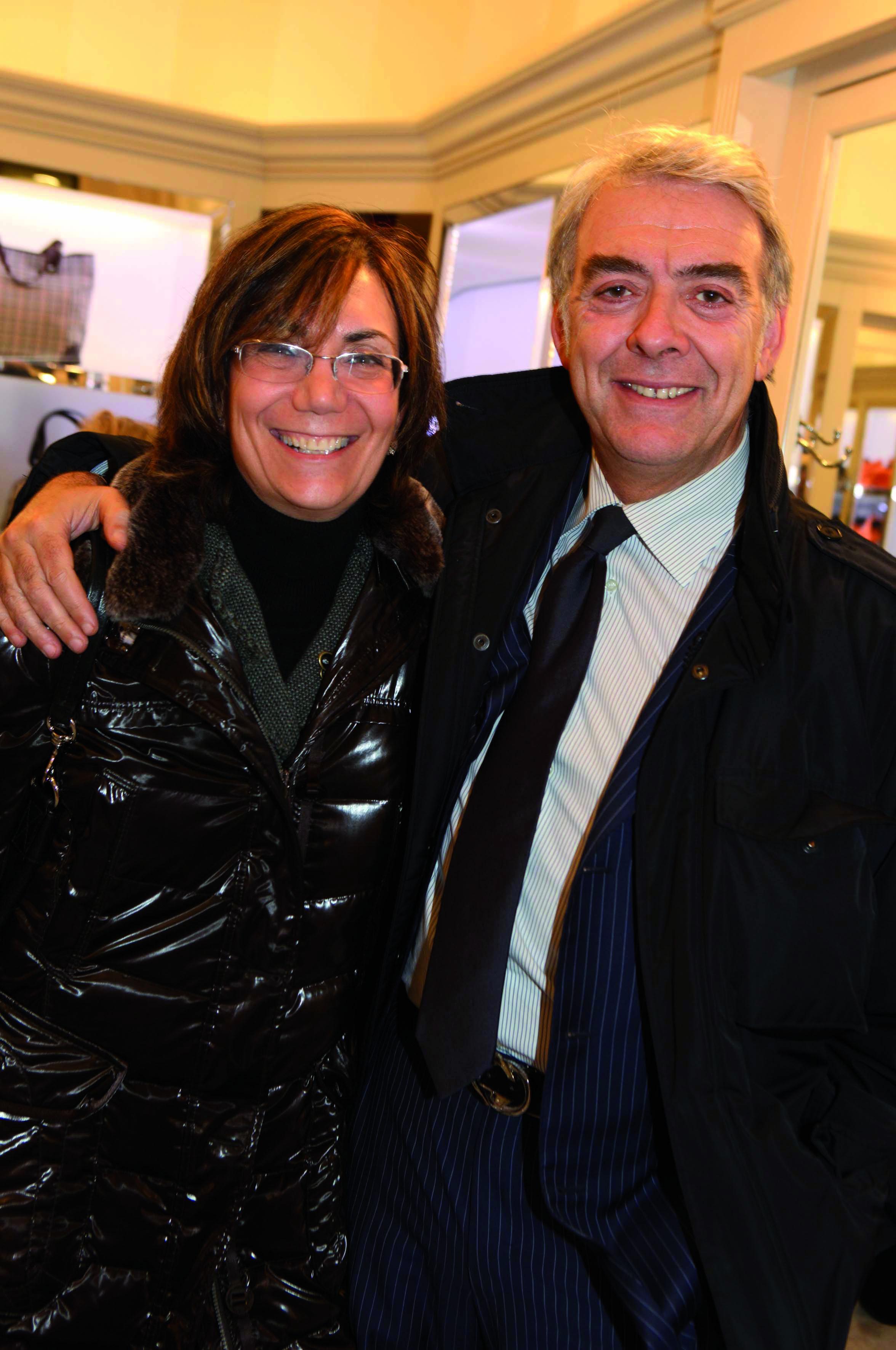 Pressphoto Firenze Magazine Inaugurazione Happy Jak nella foto : Paola Fabbrini, Natale Scopato