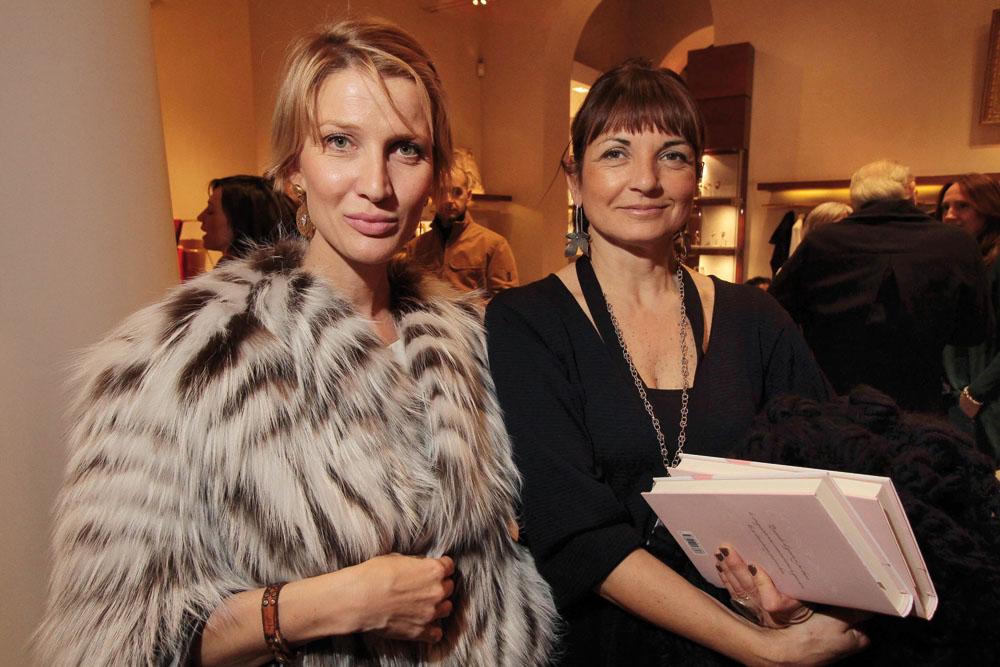 PRESSPHOTO. Firenze, Hermes. Nella foto Anna Carmelita, Giuliana Frangipane foto Giuseppe Cabras/New Press Photo