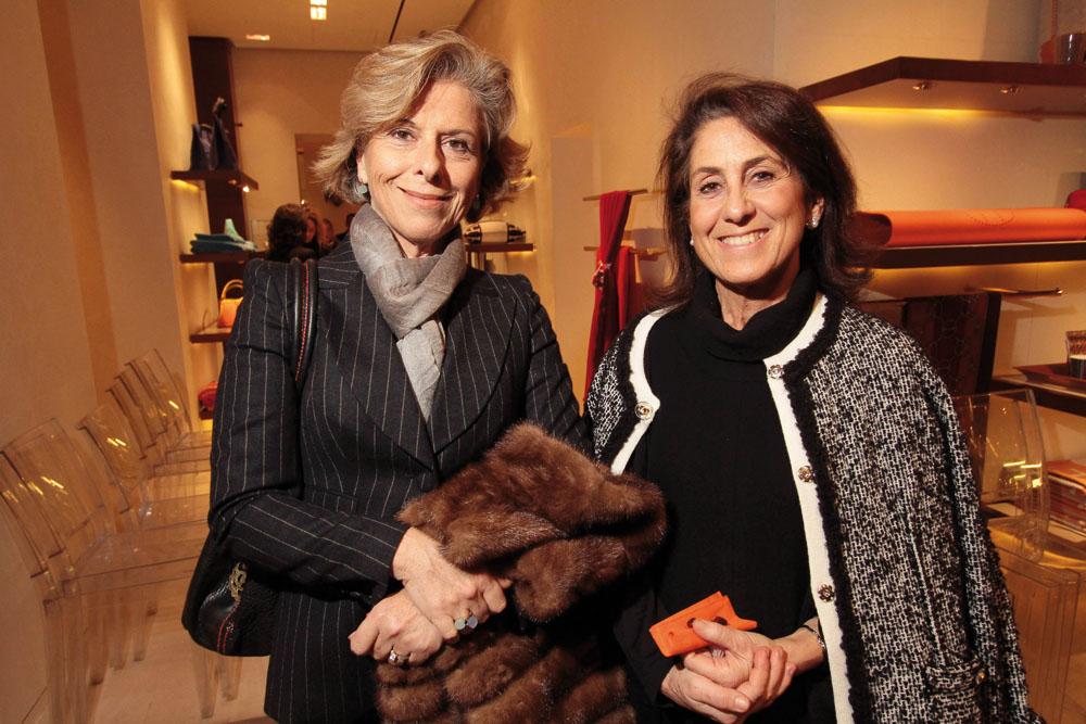 PRESSPHOTO. Firenze, Hermes. Nella foto Lucia Beretta, Maria Preti foto Giuseppe Cabras/New Press Photo