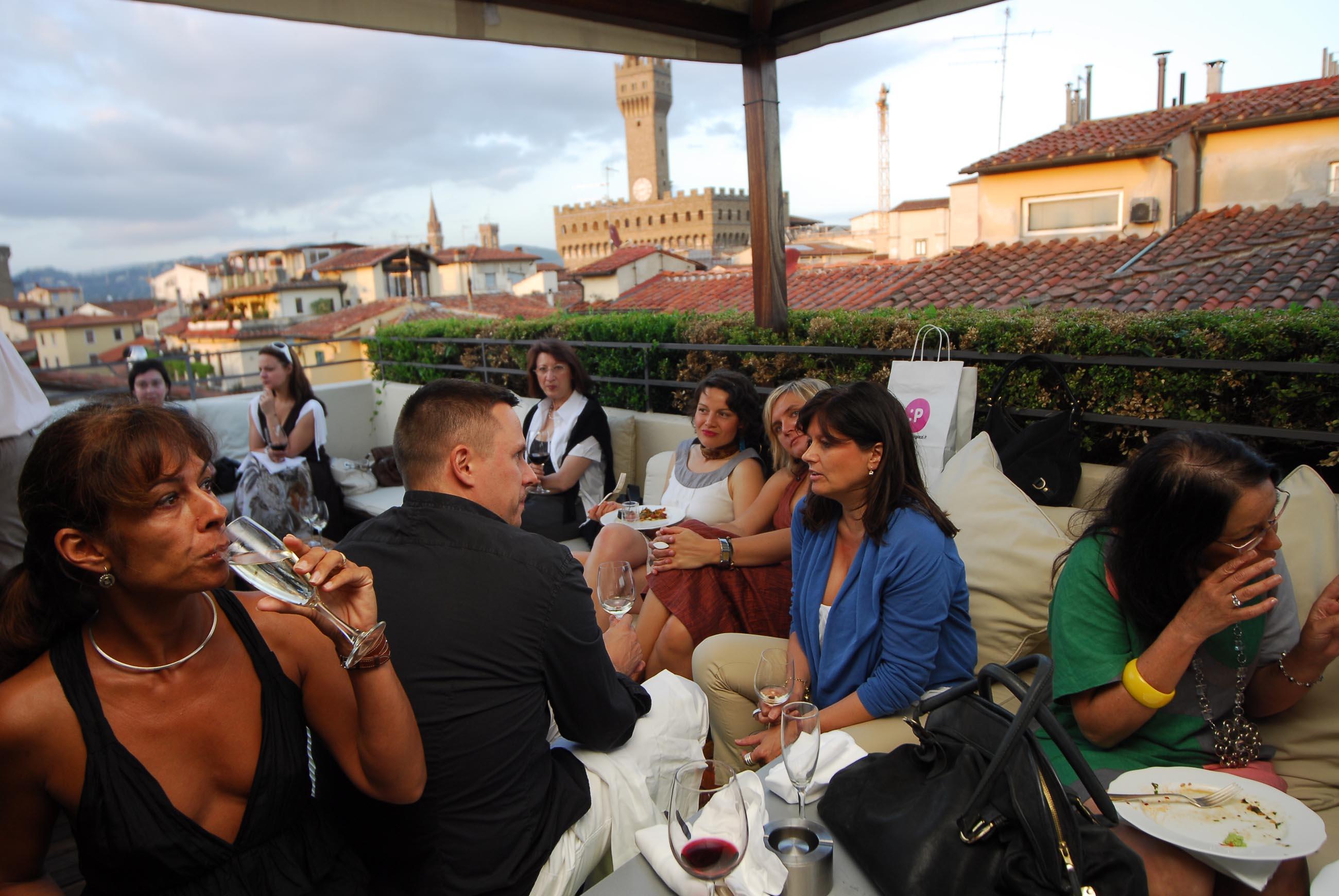 PRESSPHOTO  Firenze, Hotel Continentale. Nella foto