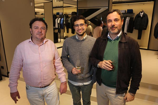 Michele Vagaggini, Leonardo Tani e Jonas Ta Silva