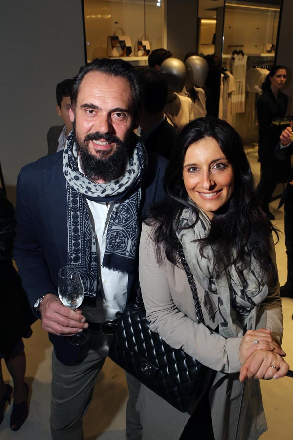 Andrea Olianti ed Erica Ghilardi