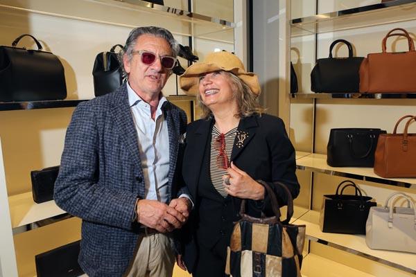 Riccardo Foti e Gabriella Peruzzi